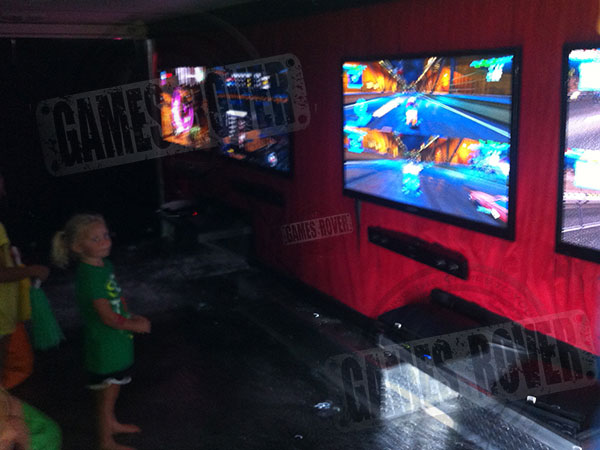 video game truck game parties portland